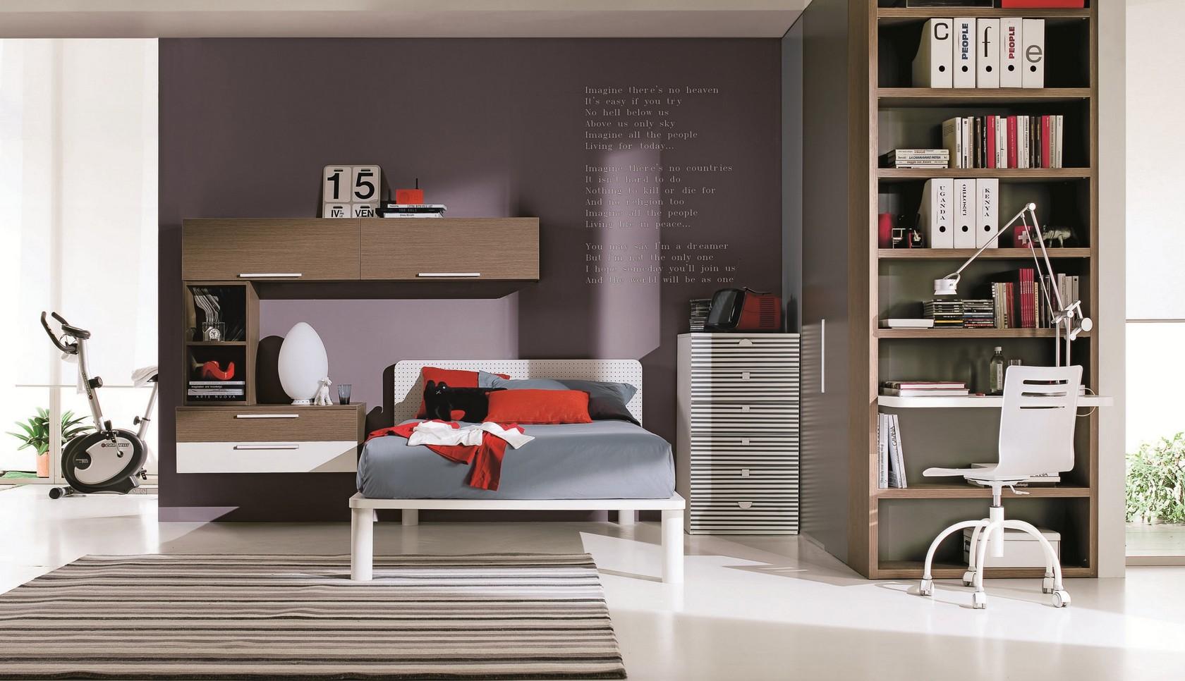 Camerette per ragazzi borghetti arredi for Camere da letto per giovani