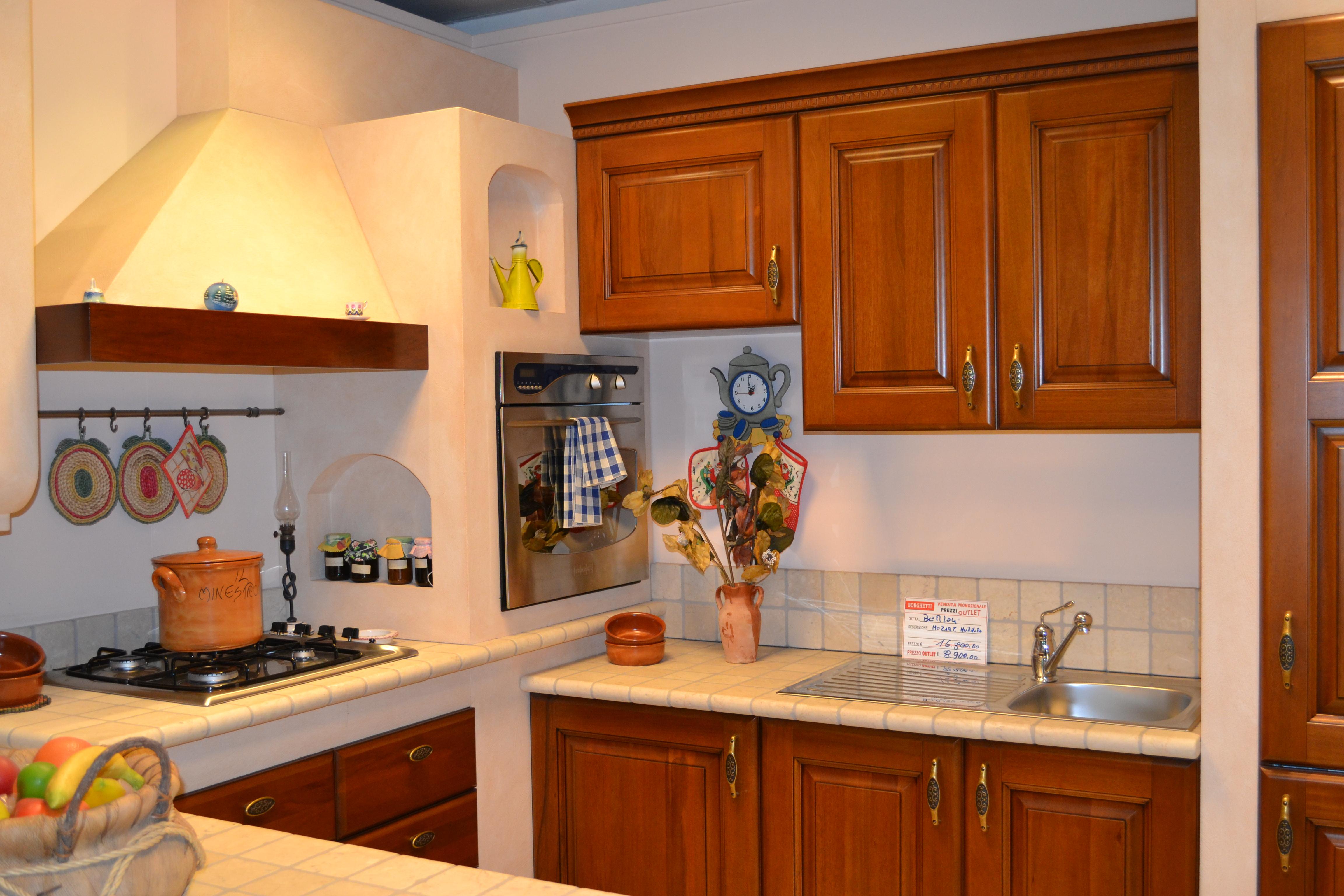 Cucina componibile mozart berloni borghetti arredi arredamenti messina e provincia - Cucine componibili usate su ebay ...