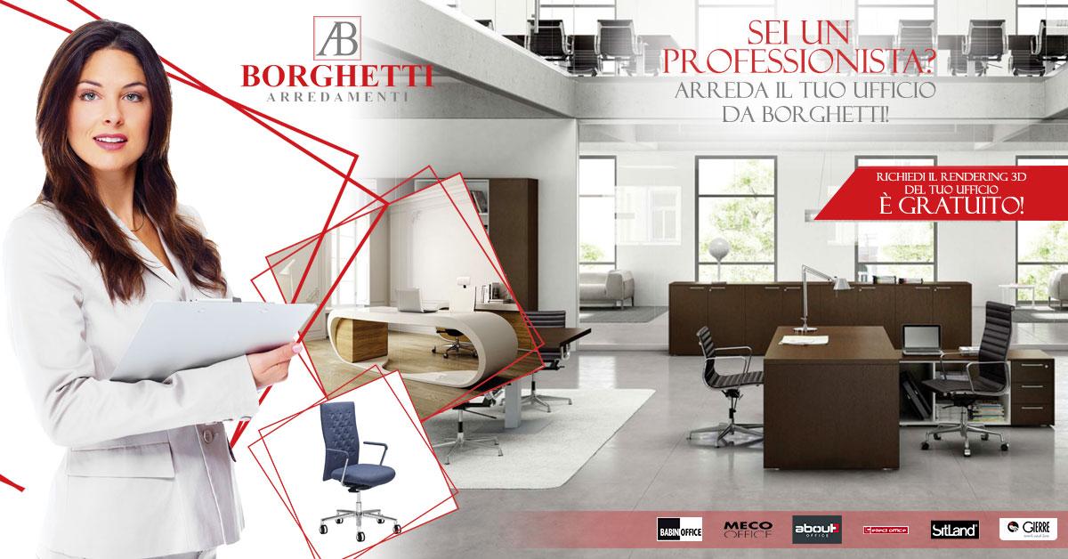 Li Per Ufficio : Borghetti arredamentiu anche per ufficio quando il design non è