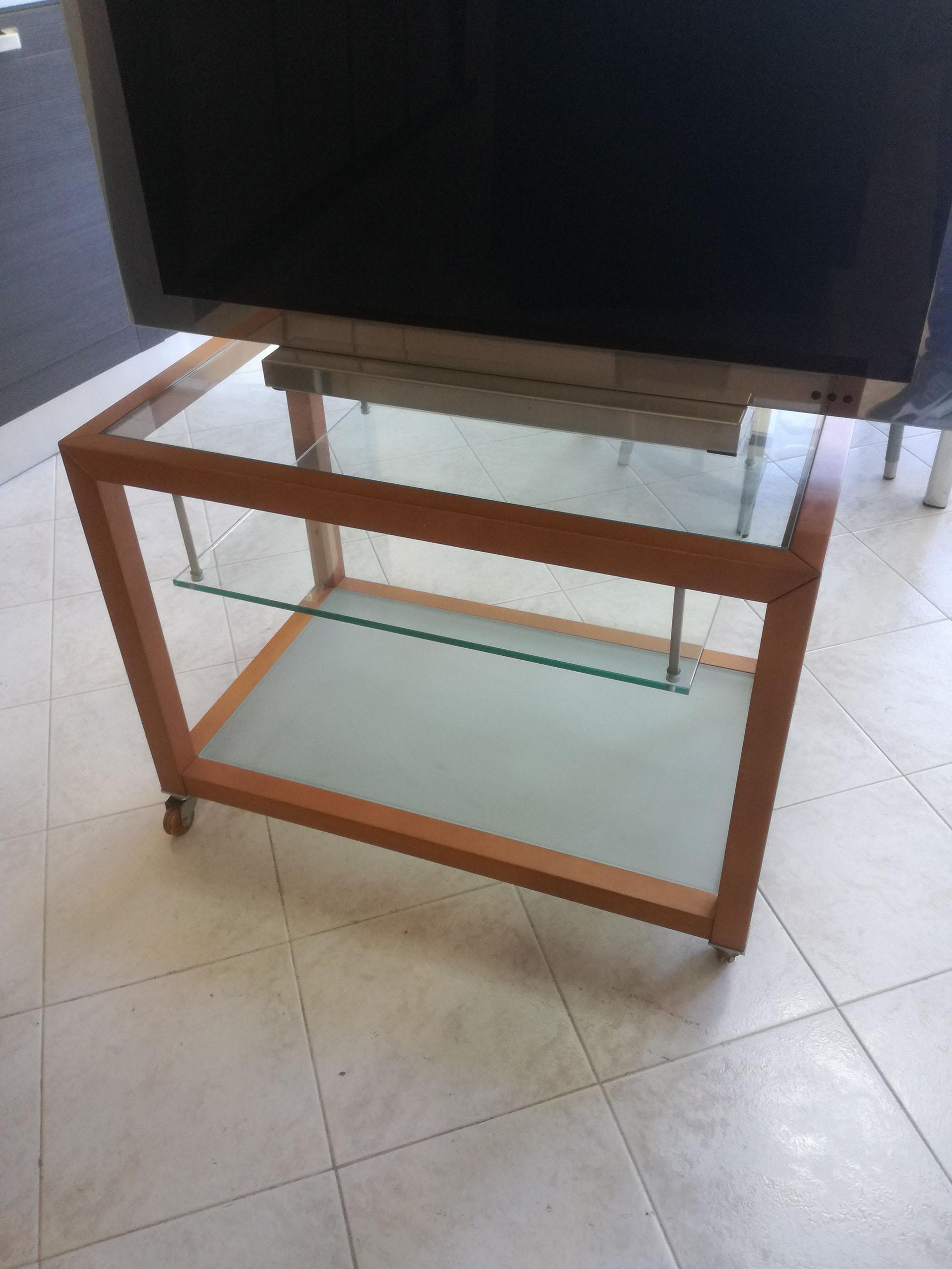 Porta tv calligaris, ciliegio e vetro €150,00 - Borghetti Arredi ...