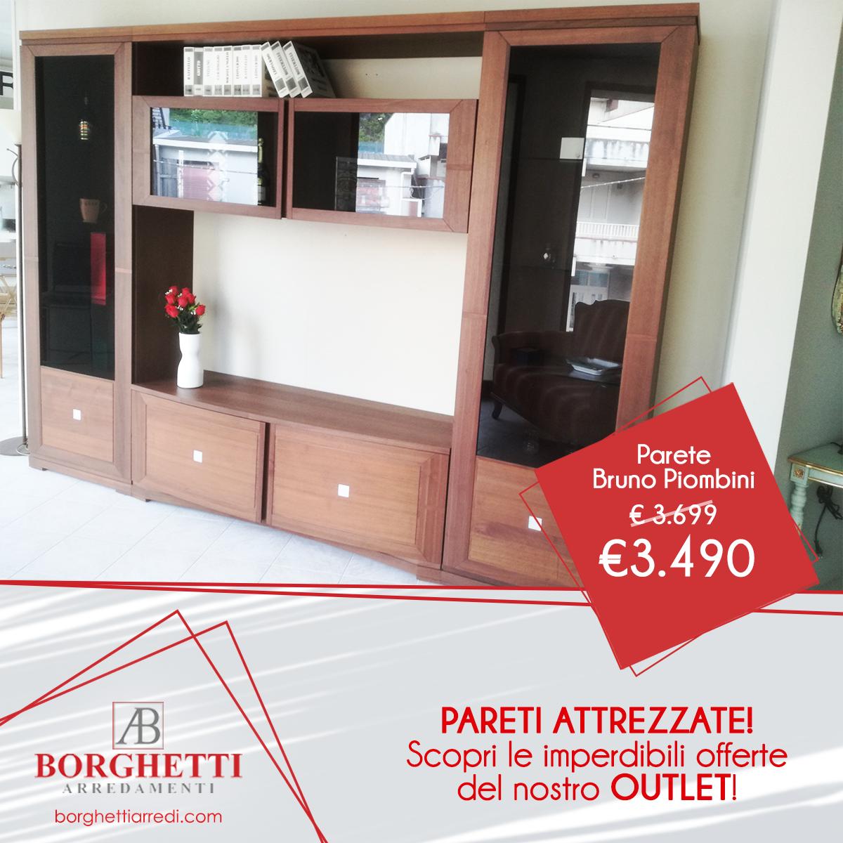 Parete Bruno Piombini Collezione Modigliani - €3.490 - Borghetti ...