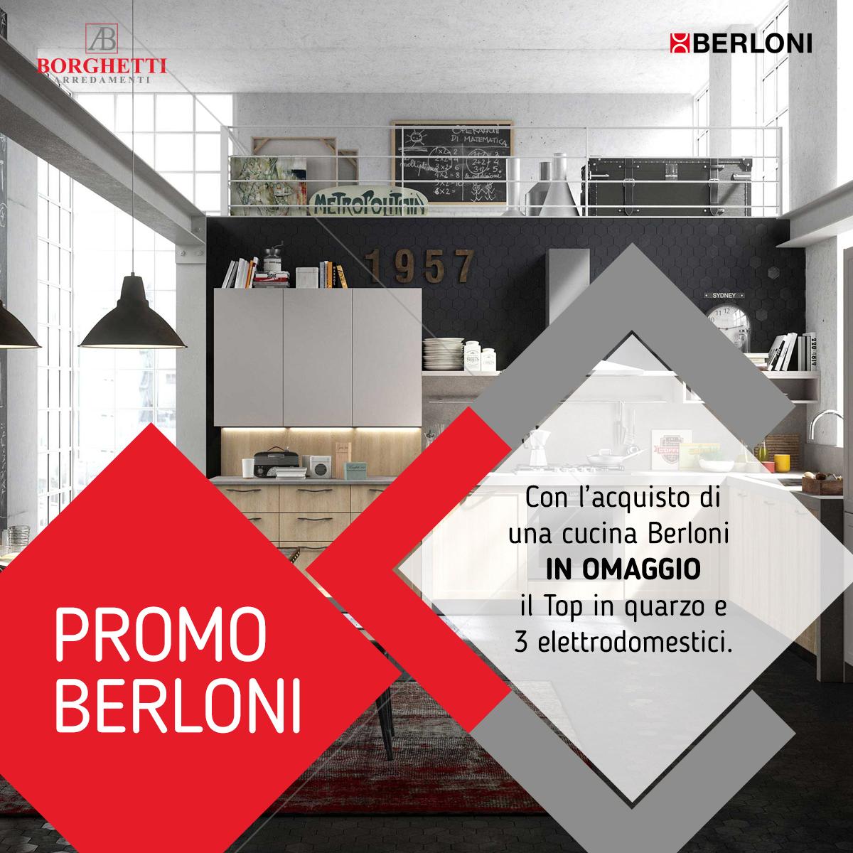 Promo Berloni - Borghetti Arredi - Arredamenti Messina e provincia